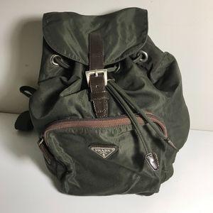 Prada mini Vela backpack nylon bag